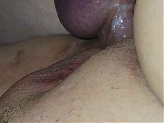 Creamy, fat pussy
