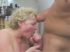 busty mom and granny spoiling boy's milf